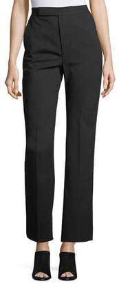 Helmut Lang Wide-Leg Wool Suiting Pants