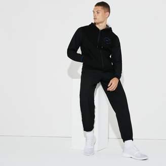 Lacoste Men's SPORT Fleece And Taffeta Tennis Tracksuit