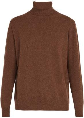 PRESIDENTS Washed wool roll-neck sweater