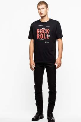 Zadig & Voltaire Tobias Rock Roll T-Shirt