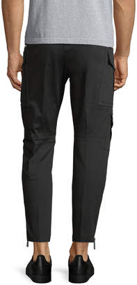 DSQUARED2 Sexy Stretch Cotton Cropped Cargo Pants