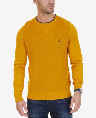Nautica Men's Crew-Neck Sweater $69.50 thestylecure.com