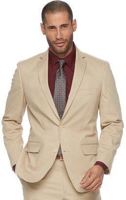 Apt. 9 Men's Slim-Fit Tan Stretch Suit Jacket