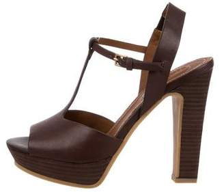 See by Chloe Platform T-Strap Sandals w/ Tags