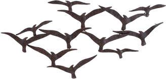 Uma Enterprises Metal Birds Wall Decor