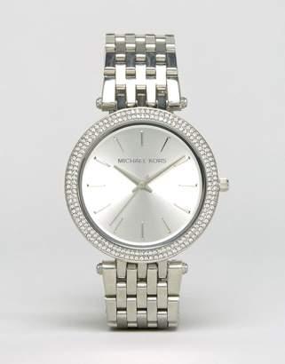 Michael Kors MK3190 Darci silver watch