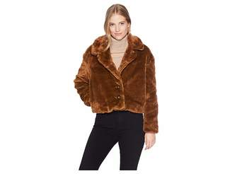 Free People Mena Fur Coat