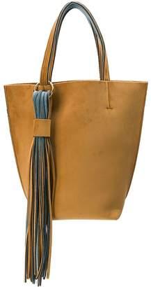 Alila two-tone tote bag