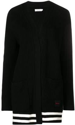 Calvin Klein knitted cardi-coat