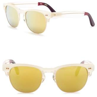 Toms Lobamba 50mm Clubmaster Sunglasses