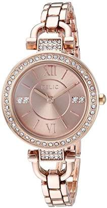 Relic Women's Leah Quartz Stainless Steel and Alloy Dress Watch