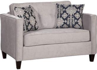 Serta Willa Arlo Interiors Upholstery Cia Sleeper Loveseat
