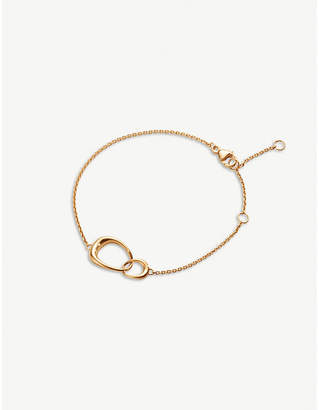 Georg Jensen Offspring 18ct rose-gold bracelet