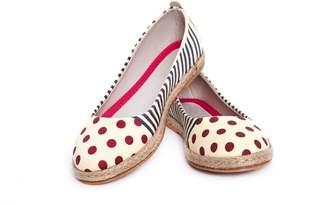 POLA GOBY Women's Shoes 'Pola Dot Ballerina Flats' / Textile FBR1184
