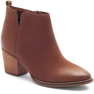 35d3770c9eac Blondo Brown Stacked Heel Women s Boots - ShopStyle