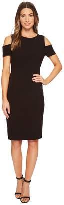 Tahari ASL Cold Shoulder Sheath Dress Women's Dress