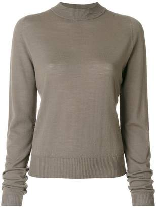 Rick Owens biker lupetto sweater