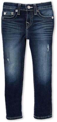 True Religion Boys 4-7) Slim Distressed Jeans
