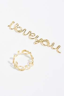 Kemi Designs Delicate Word Ring
