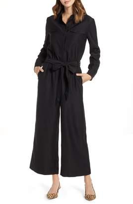 1901 Tie Front Jumpsuit