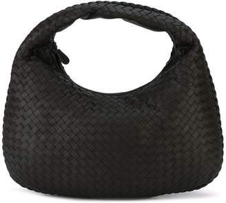 Bottega Veneta espresso Intrecciato nappa medium veneta bag