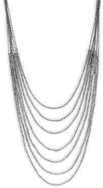 Saks Fifth Avenue Beaded Two-Tone Necklace