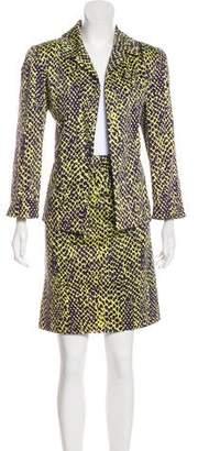 Ellen Tracy Linda Allard Printed Skirt Set