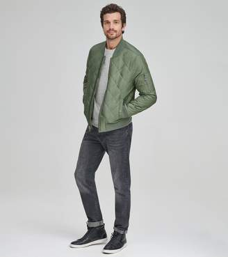 Andrew Marc FLETCHER QUILTED BOMBER