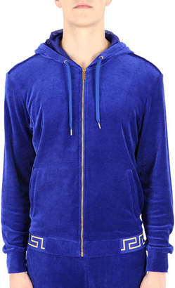 Versace Men's Greek Key Gym Jacket