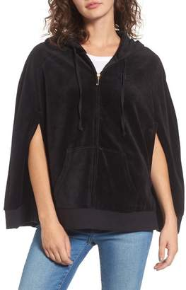 Women's Juicy Couture Velour Cape Jacket