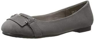 Annie Shoes Women's Erin Wide Calf Ballet Flat