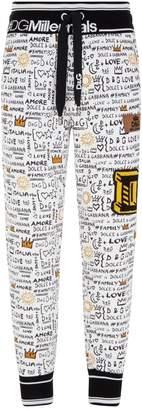 Dolce & Gabbana Tapered Sweatpants