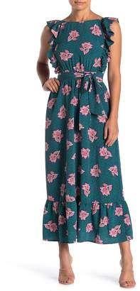 Spirit of Grace Flutter Sleeve Maxi Dress