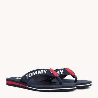 Tommy Hilfiger Colour-Blocked Heel Flip-Flops