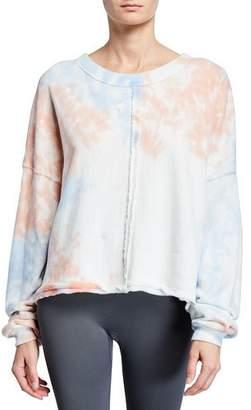 Spiritual Gangster Matya Tie-Dye Swing Sweatshirt