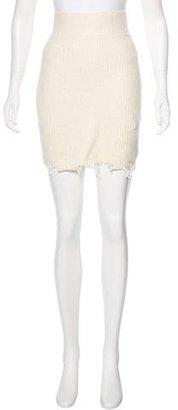 Yeezy Season 3 Knit Skirt w/ Tags $325 thestylecure.com
