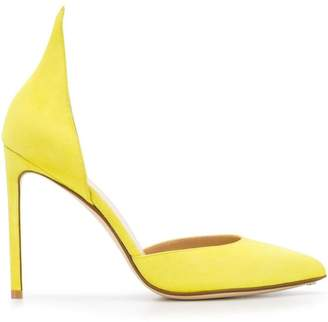Francesco Russo D'orsay pointed pumps