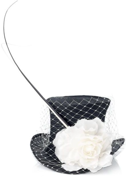 Victoria Grant Top Hat with Flower