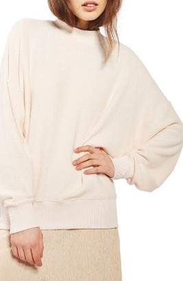 Women's Topshop Brushed Batwing Sweatshirt $40 thestylecure.com