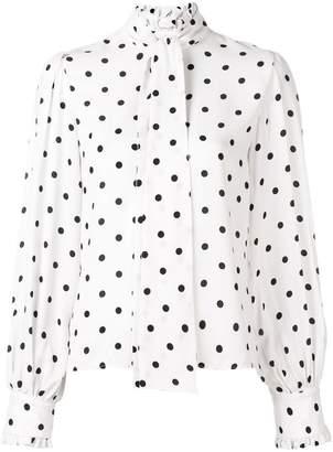 Vivetta polka-dot long sleeve blouse