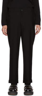 Comme des Garcons Black Barathea Trousers