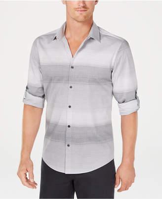 Alfani Men Regular-Fit Ombre Stripe Shirt