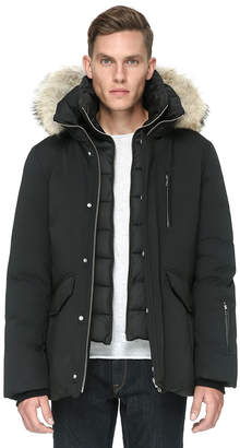 Soia & Kyo REUBEN-C classic down jacket with removable fur