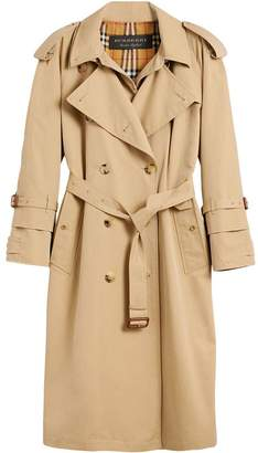 Burberry Gabardine Reconstructed trench coat