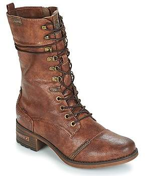 Mustang Brown Boots For Women - ShopStyle UK 3d6c2358e8