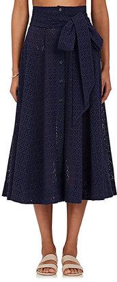 Lisa Marie Fernandez Women's Cotton Cover-Up Maxi Skirt $575 thestylecure.com