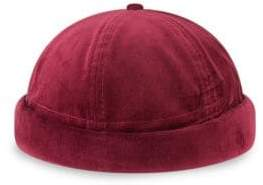 New Era Velvet Skully Hat