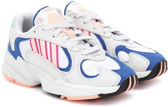 adidas Yung-1 leather and mesh sneakers