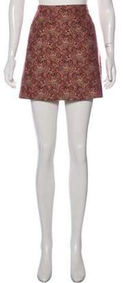 Tory Burch Printed Mini Skirt w/ Tags