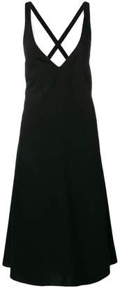 Jil Sander Navy flared shift dress